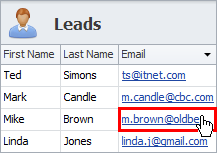 sales crm contact leads